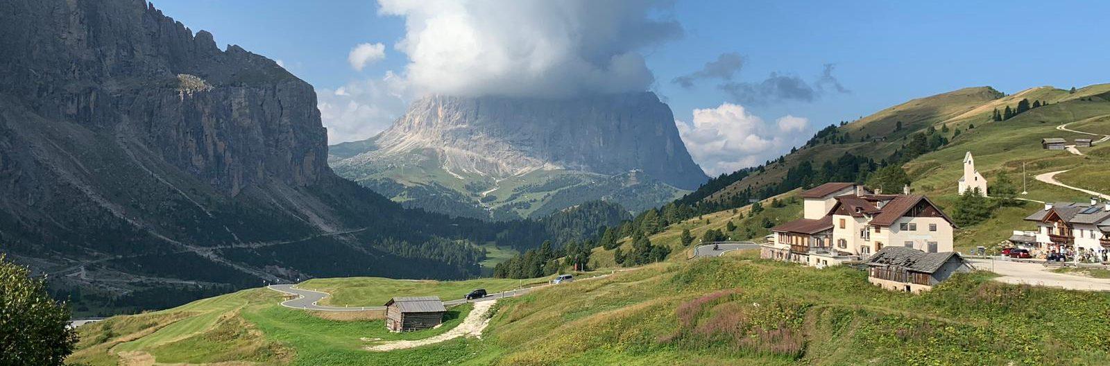 Photo of Gardena Pass in the Dolomites